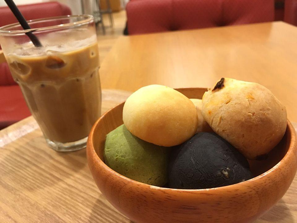 女子に大人気!抹茶や紅しょうが味の日本風ポンデケージョ「ぽんで」